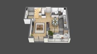 appartement 021 de type T3