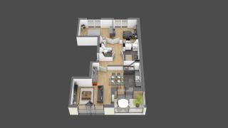 appartement 024 de type T3